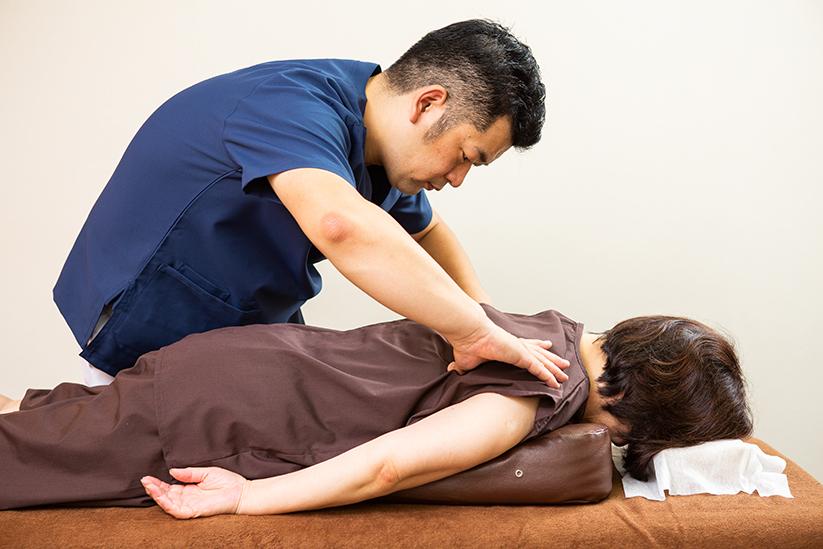 ぎっくり腰の治療2